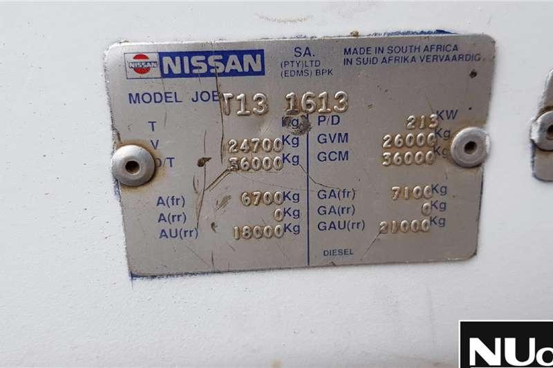 Nissan NISSAN UD290 SKIP BIN LOADER TRUCK Skip bin loader trucks