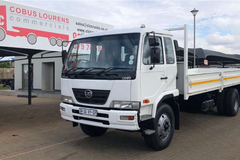 Nissan Tipper trucks 2015 Nissan UD85 with new 6.8m Dropside Body. 2015