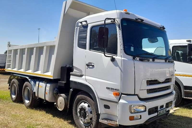 Nissan NISSAN UD GW26 410 10 CUBIC TIPPER TRUCK FOR SALE Tipper trucks