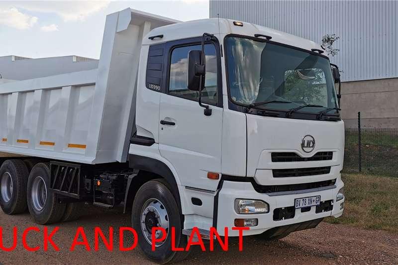 Nissan Tipper trucks UD390 10 CUBE 2012