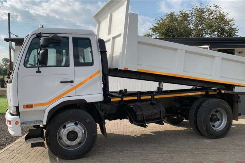 Nissan Tipper trucks UD85 fitted with New 6 Cube Tipping Bodies 2015