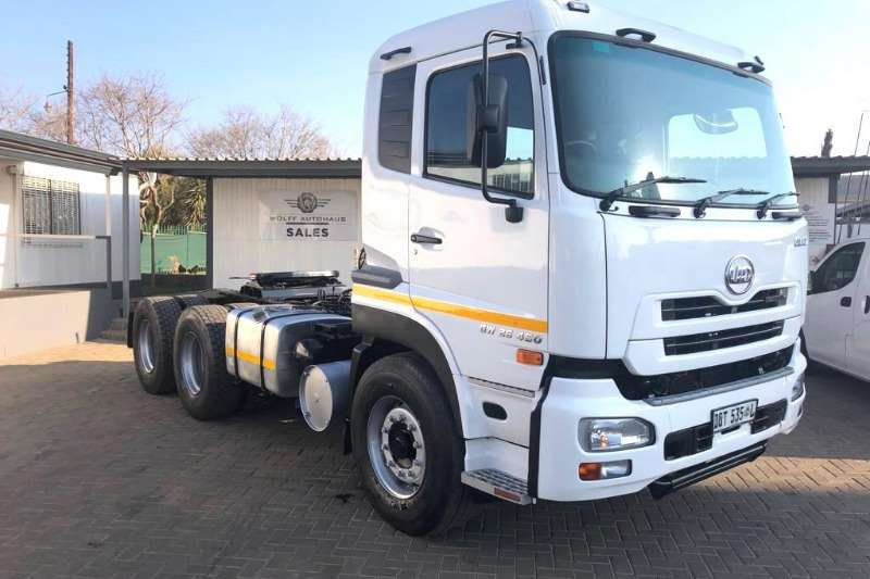Nissan Truck Chassis cab 2014 Nissan Quon GW26 450 6 x 4 Truck Tractor 2014