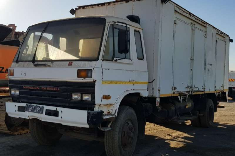 Nissan Truck Closed body 1997 NISSAN 539 SERVICE TRUCK