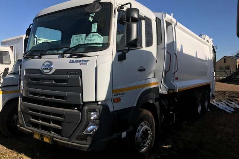 Nissan Truck Compactor Nissan Quester 330 with 22Cub 2020