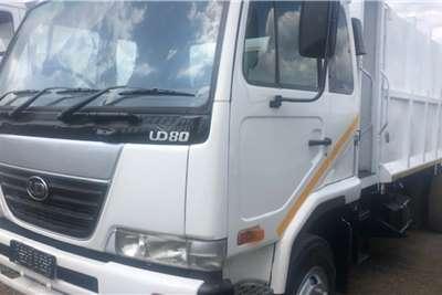 Nissan Truck Compactor Nissan UD80 Compactor