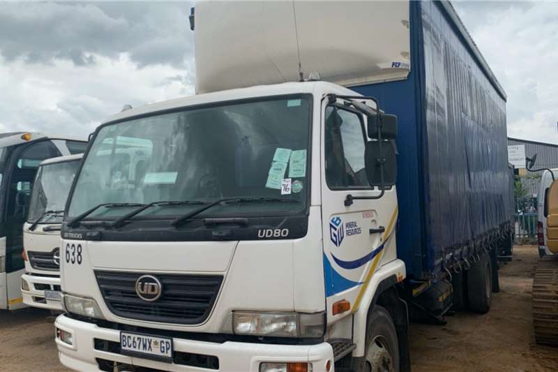 Nissan Truck Curtain side UD80