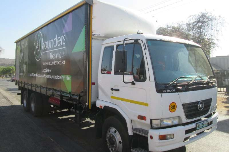Nissan Truck Curtain side UD90 2016