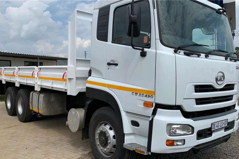 Nissan Truck Dropside 2014 Nissan UD Quon CW26 490 Double diff Dropside. 2014