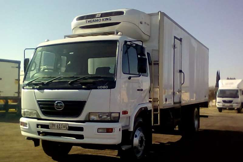 Nissan Fridge truck NISSAN UD 80 8 TON THERMOKING FRIDGE BODY Truck