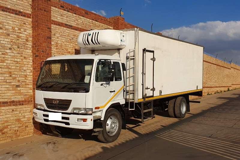 Nissan Truck Fridge truck UD90,WITH REFFER BODY & TRANSFRIG MT450 COOLER 2010