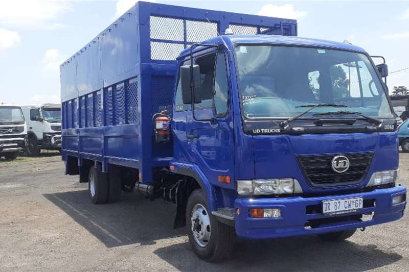 Nissan Truck NISSAN UD60B BOX CAGE BODY 2015