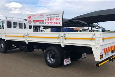 Nissan Tipper 2015 Nissan UD85 with new 6.8m Dropside Body. Truck