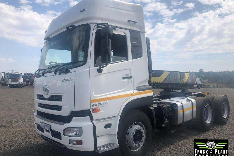 Nissan Truck-Tractor Double axle 2014 Nissan UD Quan GW 26 410 2014