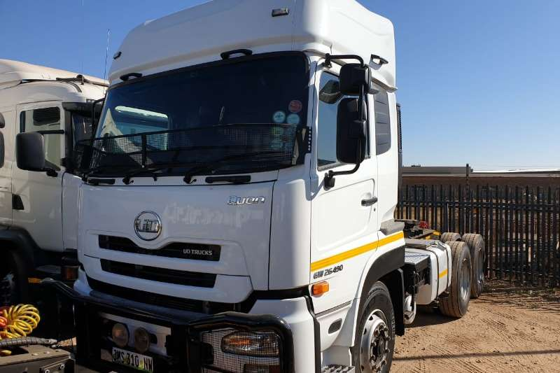 Nissan Truck-Tractor Double axle GW 26 490 2016