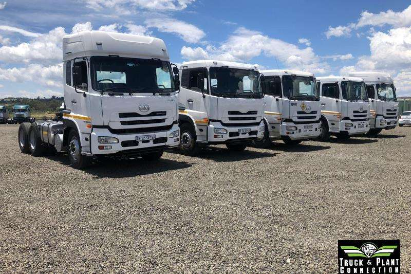 Nissan Truck-Tractor Double axle Various Nissan UD Trucks Available