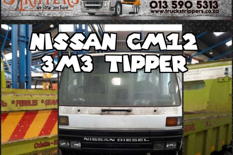 Nissan Truck-Tractor Single axle Nissan CM 12 3m3 tipper