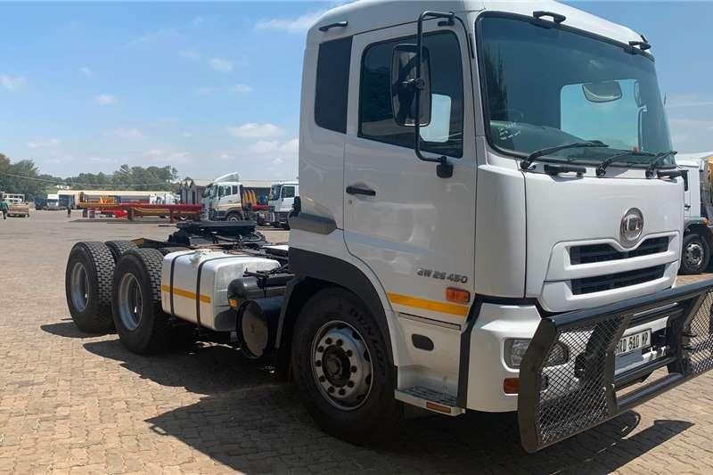 Nissan Truck Tractors Double Axle 2015 UD GW26-450 Truck Tractor 2015