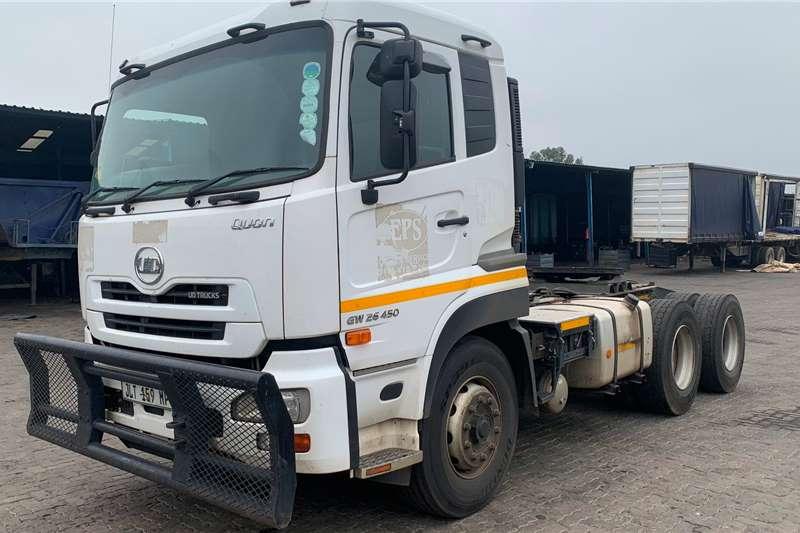 Nissan Truck tractors Double axle 2018 UD GW26 450 2018