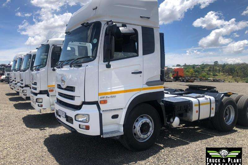 Nissan Double axle Various Nissan UD Trucks Available Truck tractors