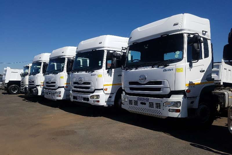 Nissan UD Quon GW 25 410 double diff Truck