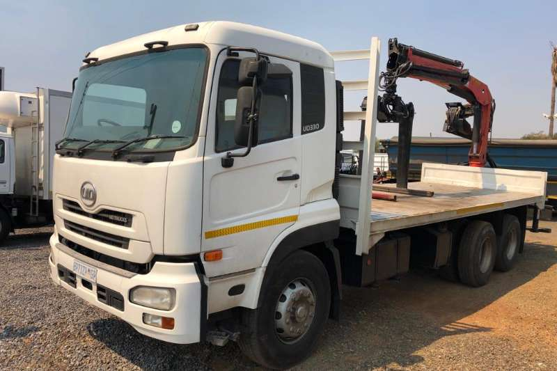 Nissan Truck UD330 fitted with Palfinger Crane 2011