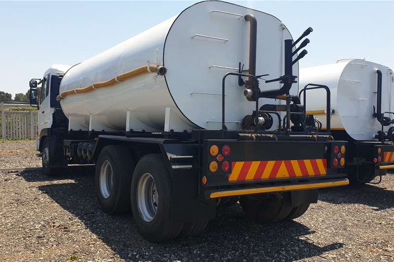 Nissan Quon GW26 490 Water bowser trucks