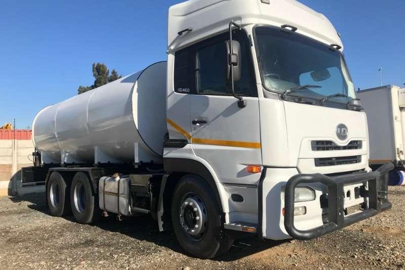 Nissan Water bowser trucks UD460 17000LT Water Tanker 2008