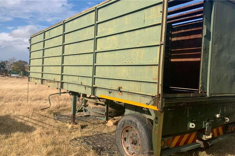 9M Single Axle Wildebeest Trailer Other