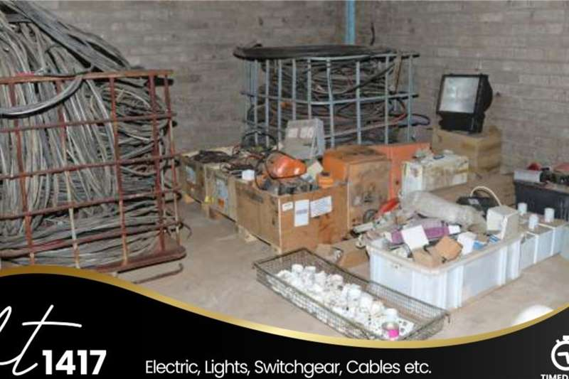 Electrics, lights, Switchgear, cables, etc Other