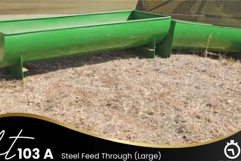 Other Steel Feed Through (Large) Feed wagons