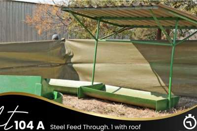 Other Steel Feed Through with Roof Feed wagons