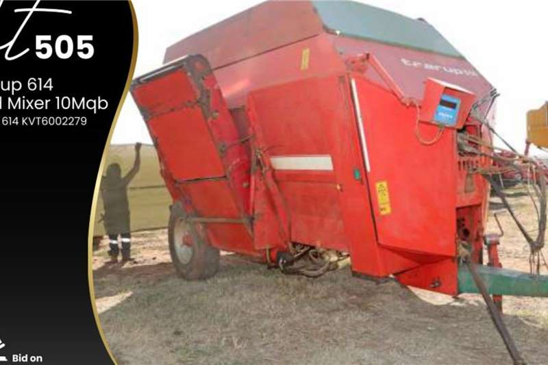Taarup 14 Feed Mixer 10Mqp Other