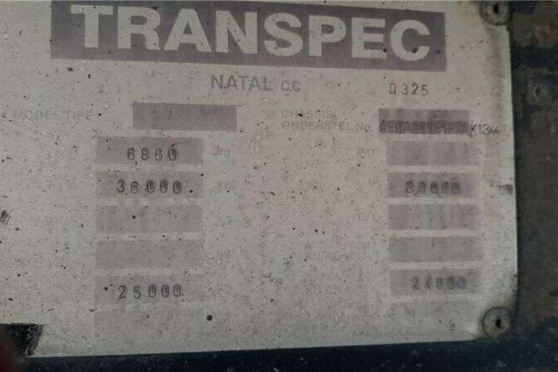 1984 Other  Tautliner Double Axle Beverage Flat Deck Semi Trai