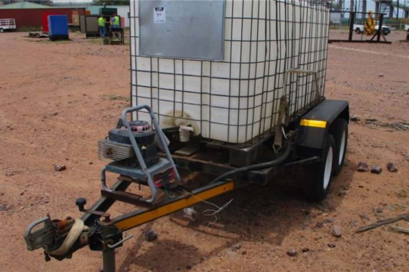 Other Trailers 2 000 Litre, Double Axle Water Cart Trailer