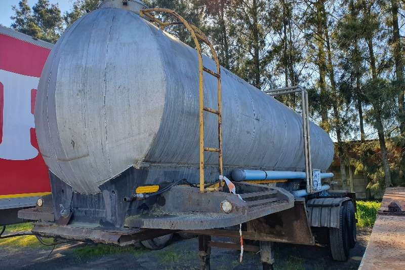 Other Trailers Alluminium tanker 6000 LITER WATER TANKER 1968