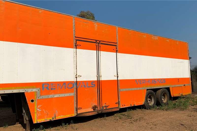 Other Auger bulk trailer 1995 FURNITURE REMOVAL TRAILER Trailers