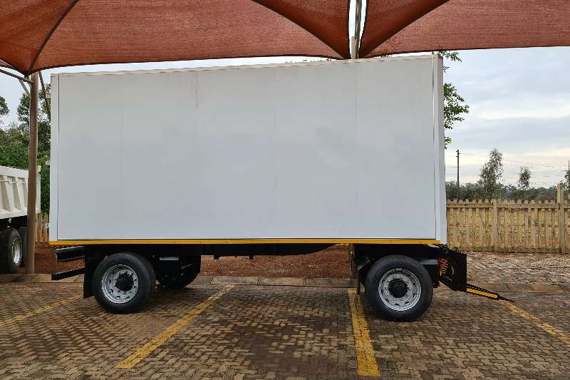 Other Box body WARRIOR DRAWBAR TRAILER Trailers