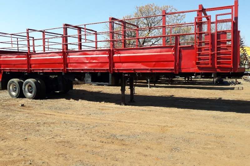 Other Trailers CATTLE / GAME DROP SIDE TRAILER 2 AXLE 10 MTR