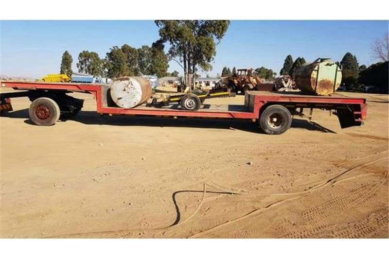 Other Trailers Coke Well Deck Trailer 13m