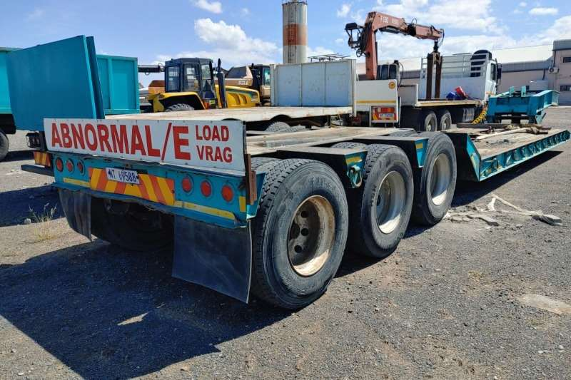 Other Trailers Cord Manufacturing 34Ton Lowbed 1990