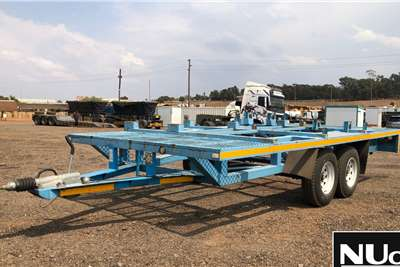 Other DOUBLE AXLE CAR TRAILER Trailers
