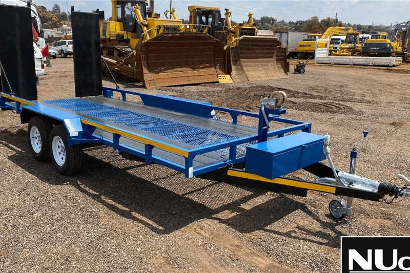 Other DOUBLE AXLE TRAILER WITH RAMPS Trailers