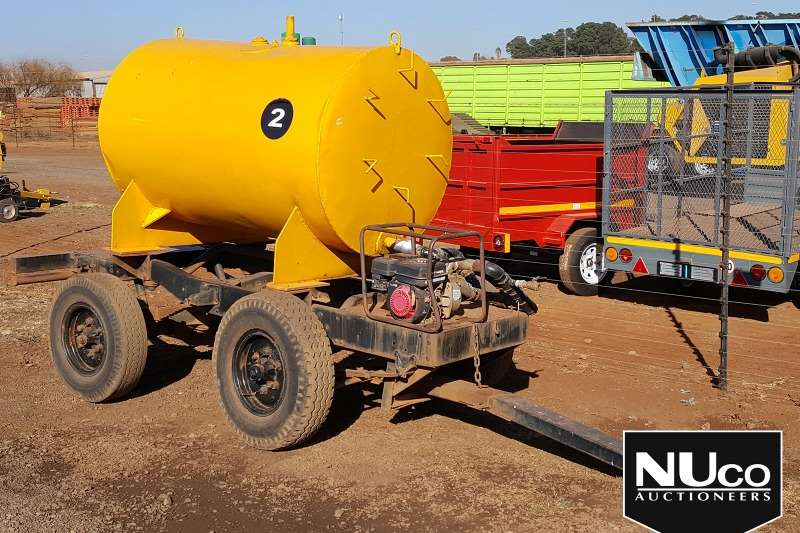 Other Trailers DRAWBAR WATER BOWSER TRAILER