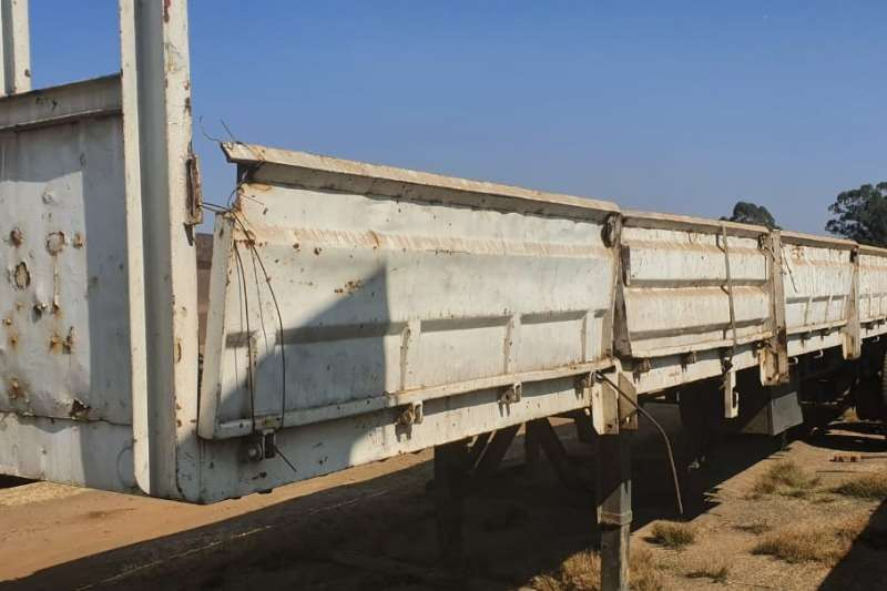 Other Trailers Dropside Semi