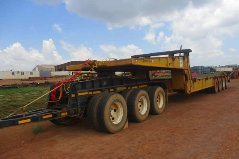 Other Trailers ETE Transport Equipment 100 Ton, Four Axle Lowbed