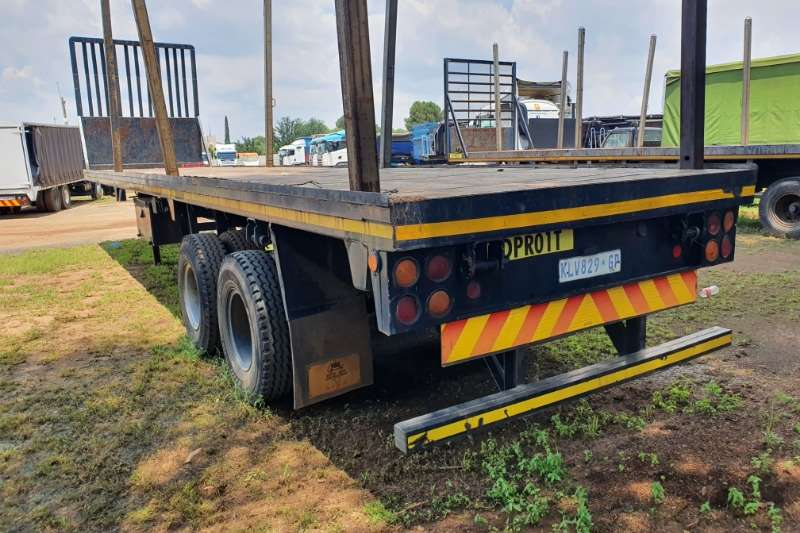 Other Trailers Flat deck Two axle. 1989
