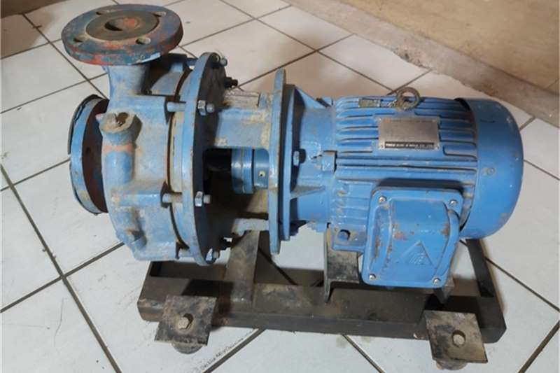 Other Trailers KSB Pump Centrifugal Etanorm 40 250 and Motor