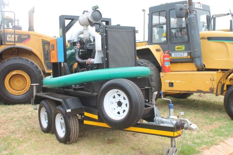 Other Trailers Mobile Water Pump on double Axle Trailer