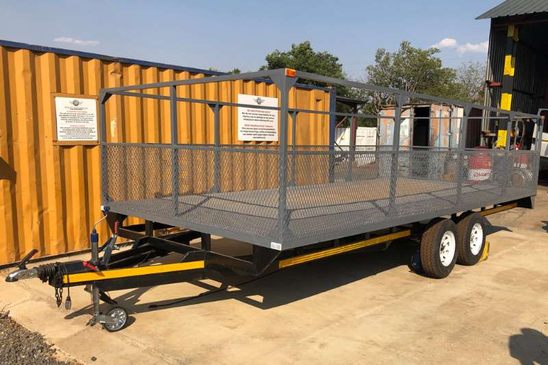 Other Trailers Rico 6m Cage Sided Tandem Axle 2ton Trailer 2012