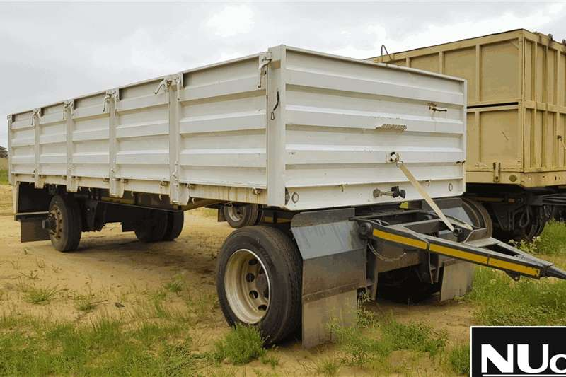 Other Trailers SINGLE AXLE HIGH SIDE DROPSIDE TRAILER 2013